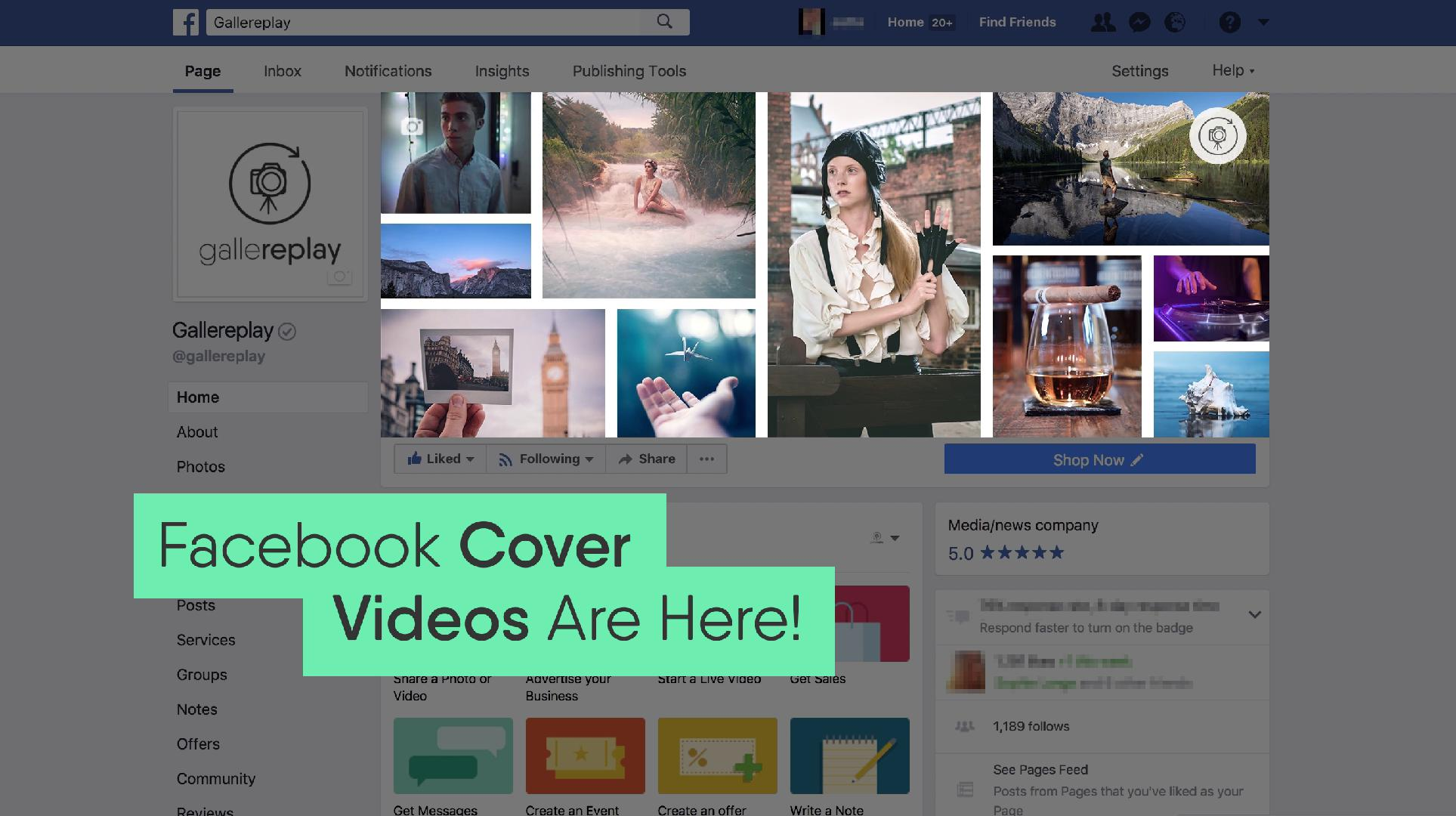 Everything You Need to Know About Facebook Cover Videos - In
