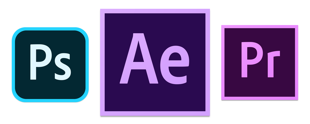Adobe Premiere, After Effects und Photoshop